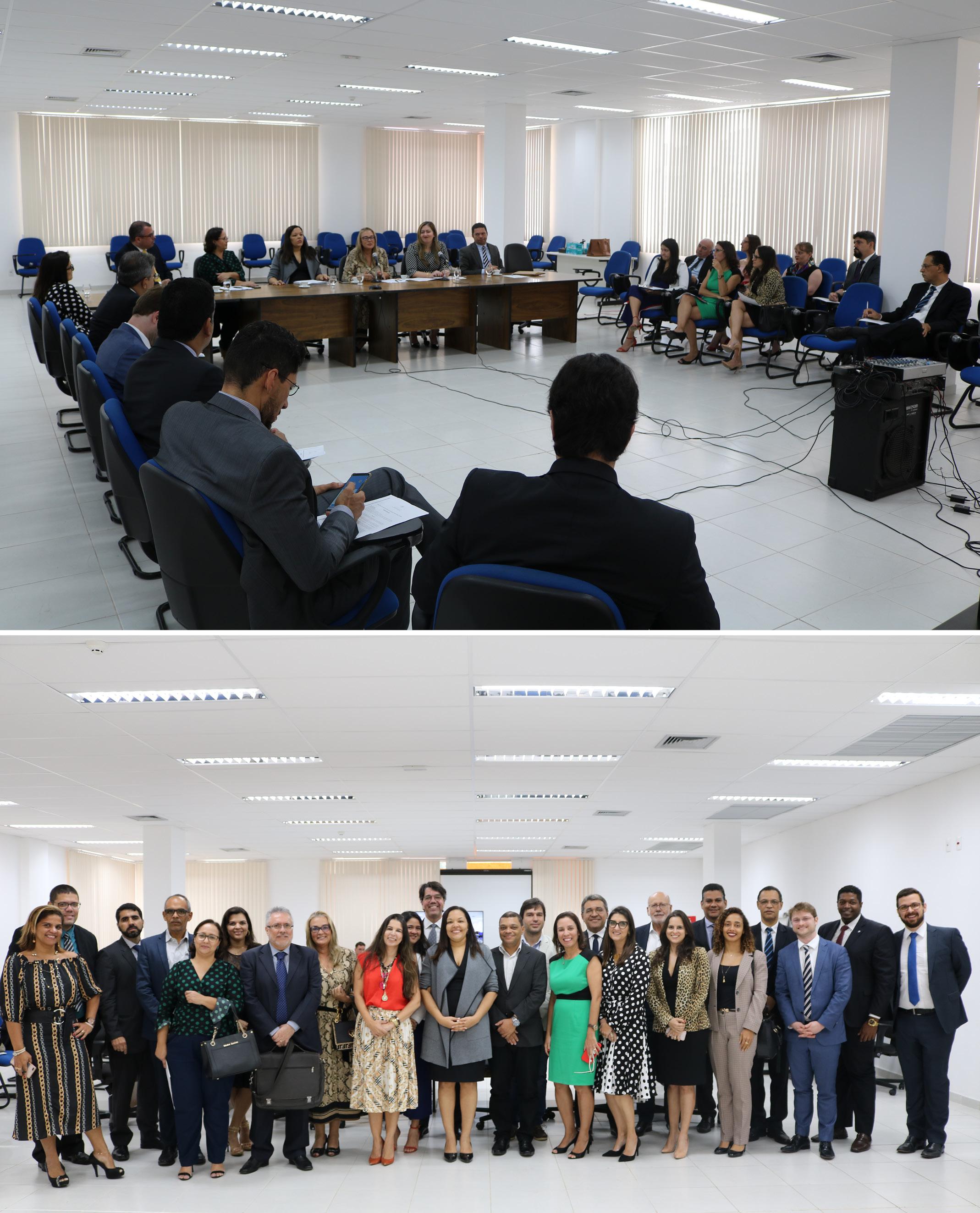 INSTITUCIONAL:  Justiça Federal da Bahia discute melhorias para os Juizados federais do estado no I Forjef/BA